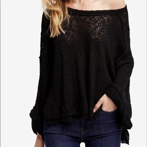 Free people hacci off the shoulder sweater